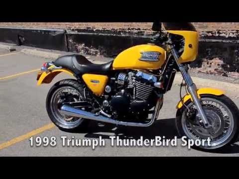 1998 Triumph Thunderbird Sport Youtube
