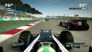 F1 2012 Gameplay Ita PC Gran Premio Kuala Lumpur Malesia - Fino all