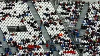 Sochi Olympics' empty seats: Where are the crowds?