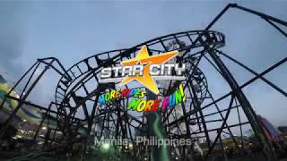 Star City @ Manila: Star Flyer, Blizzard, Dragon Express, Surf Dance, Star Frisbee (GoPro 4 POV)