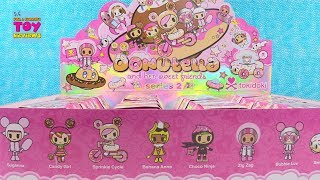 Donutella Series 2 Tokidoki Sweet Friends Full Case Unboxing | PSToyReviews