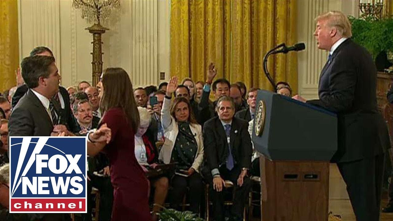 CNN's Jim Acosta banned from White House