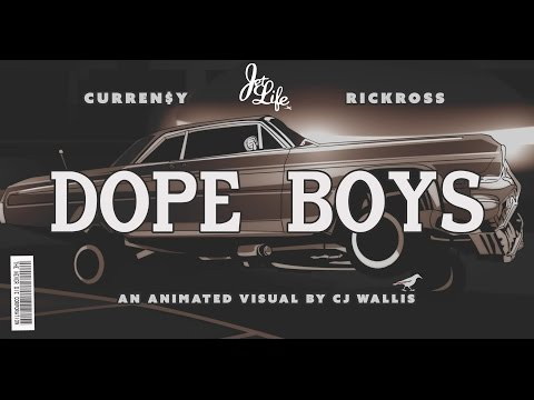 Currensy Ft. Rick Ross - Dope Boys