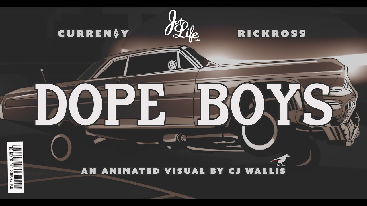 "Curren$y - ""Dope Boys"" ft Rick Ross (Official 4K Video)"