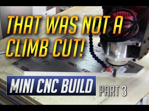 In the Shop - Mini CNC Build - Part 3