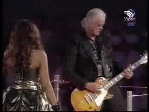 whole lotta love jimmy page in the olympics- the victory of freedom!