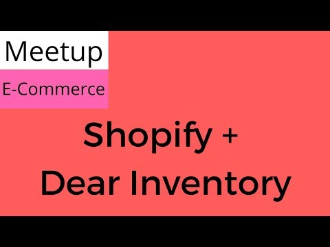 Integrating an online store plus inventory management plus an accounting solution