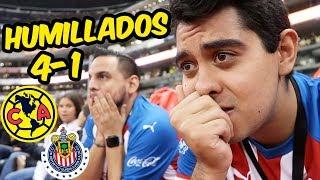 AMERICA HUMILLA Y GOLEA A CHIVAS - (AMERICA 4 - 1 CHIVAS)