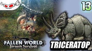 Triceratop | Fallen World Jurassic Survival Indonesia #13