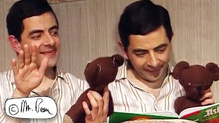 Good Night TEDDY! | Mr Bean Funny Clips | Mr Bean Official