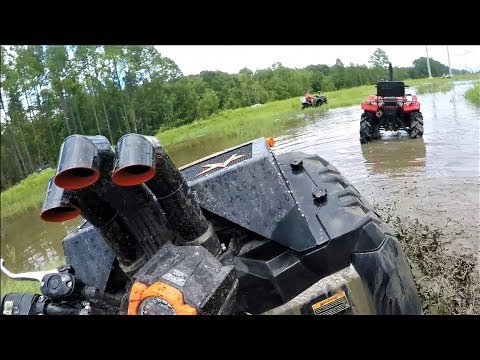 Powerline Ride with Polaris, Honda and Can Am