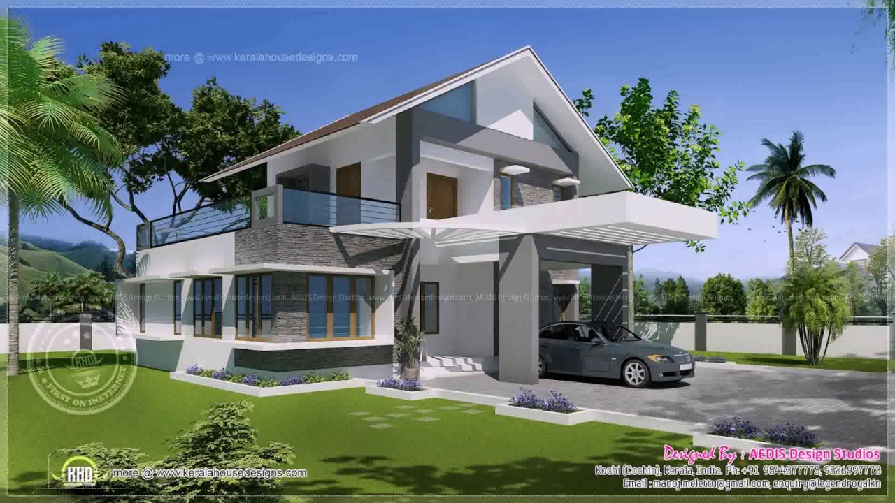 South Indian Home Exterior Design - YouTube