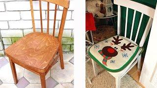 видео Как покрасить деревянную мебель: стол, стулья, шкаф