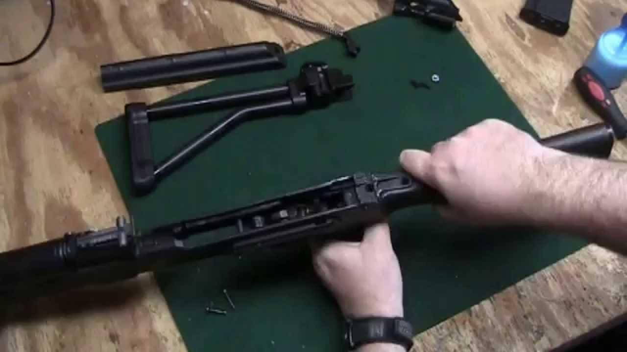BoneSteel Arms Folding Stock
