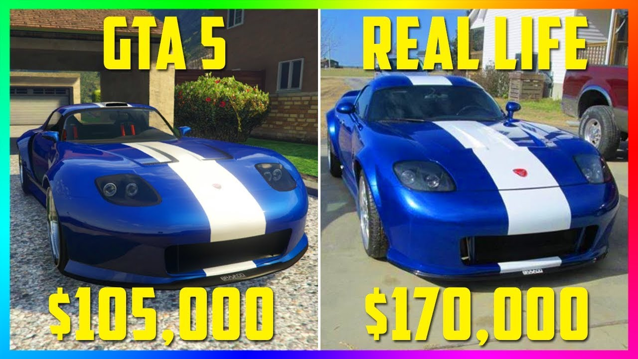 Rockstar Created A GTA 5 Super Car In REAL LIFE...And You ...
