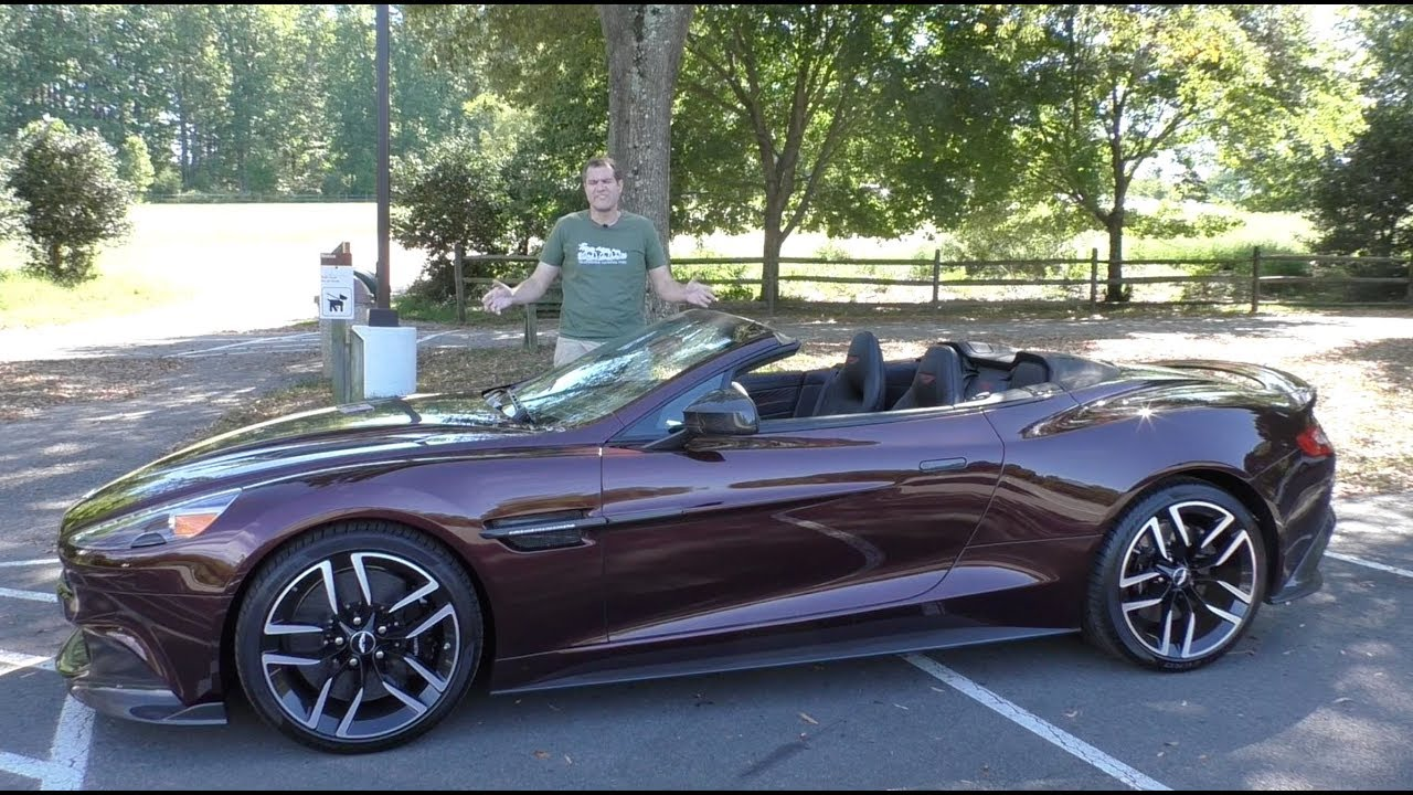 Here's Why the 2018 Aston Martin Vanquish S Costs $350,000