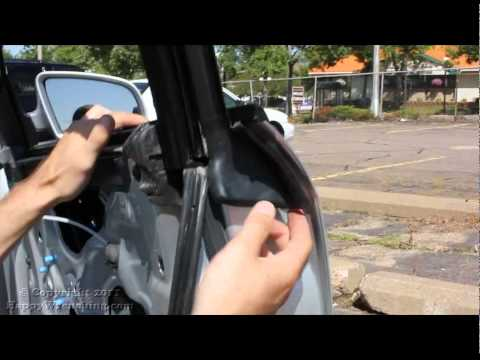 Audi A4 Window Regulator Replacement | Removal And Installation |