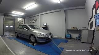 Peugeot 307 2.0 HDI 110cv Reprogrammation Moteur @ 140cv Digiservices Paris 77 Dyno