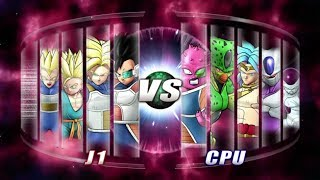 Dragon Ball: Raging Blast 2 Vegeta Family vs Villains