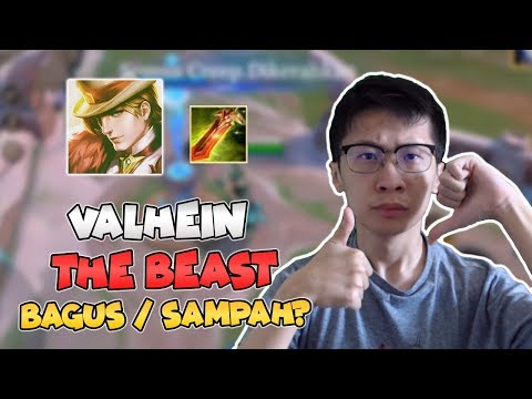 Valhein + The BEAST! BAGUS ATAU SAMPAH?? - AOV Indonesia