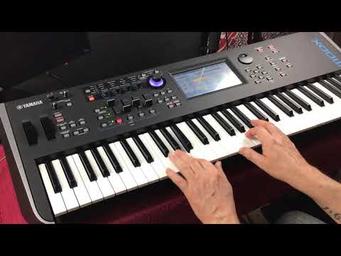 Yamaha MODX - Chick's Mark V Expansion Library - FULL Demo - Amazing Piano
