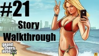 Grand Theft Auto V - Story Walkthrough - Part 21 -  Flight School Complete (Gold Medal)