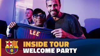 INSIDE TOUR | Welcome party in New York