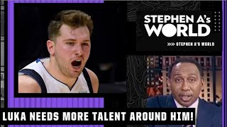 Stephen A.: Luka Doncic needs more talent around him!