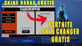FORTNITE SKIN CHANGER GRATIS COMO PEGAR SKINS RARAS ATUALIZADO 9.30 !