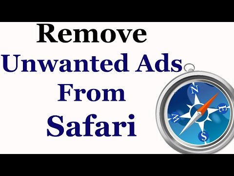 How To Remove Unwanted Ads From The Safari Web Browser