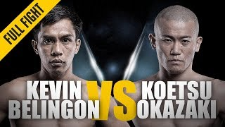 ONE: Full Fight | Kevin Belingon vs. Koetsu Okazaki | Stand-Up Battle | December 2014