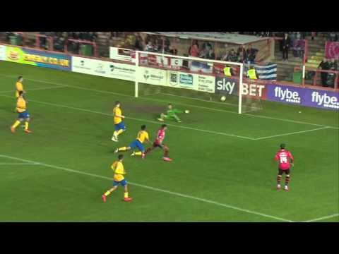 Exeter City 2-3 Mansfield Town (19/4/16) Sky Bet League 2 Highlights