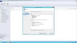SCCM 2012 R2 1602 - إنشاء و نشر التطبيق من حزمة MSI خطوة خطوة