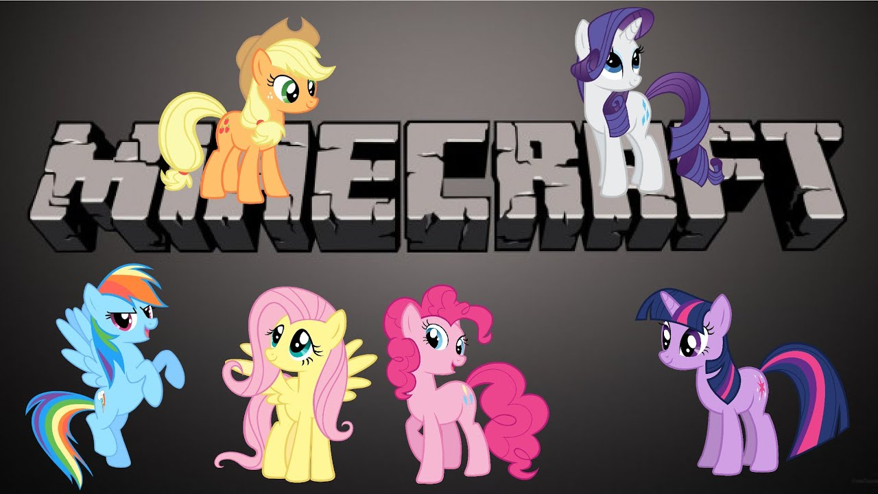 My little pony minecraft part 1 youtube for Little pony watches