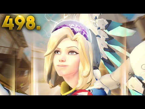 Big Brain Mercy Rez!!   Overwatch Daily Moments Ep.498 (Funny and Random Moments)