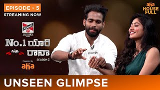 Unseen glimpse of No. 1 Yaari | Naga Chaitanya, Sai Pallavi | Rana Daggubati | Watch On AHA
