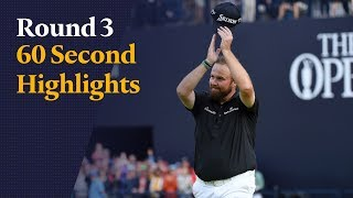 Highlights as Shane Lowry's 63 puts him four shots clear