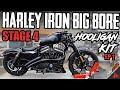 - Harley Iron 883 BIG BORE Kit Install! Hooligan Kit Ep 1