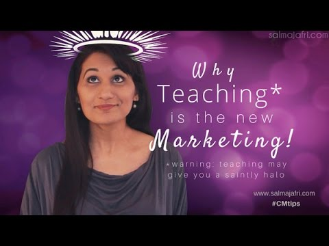 Why Teaching is the New Marketing and How to Use the Halo Effect to Get Customers for Life!