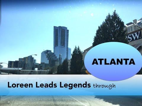 Atlanta - Loreen Leads Legends Through Atlanta - A City Walk