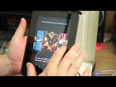 """Amazon Kindle Fire HD 7"""" 16GB Unboxing and First Look Review"""
