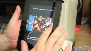 "Amazon Kindle Fire HD 7"" 16GB Unboxing and First Look Review"