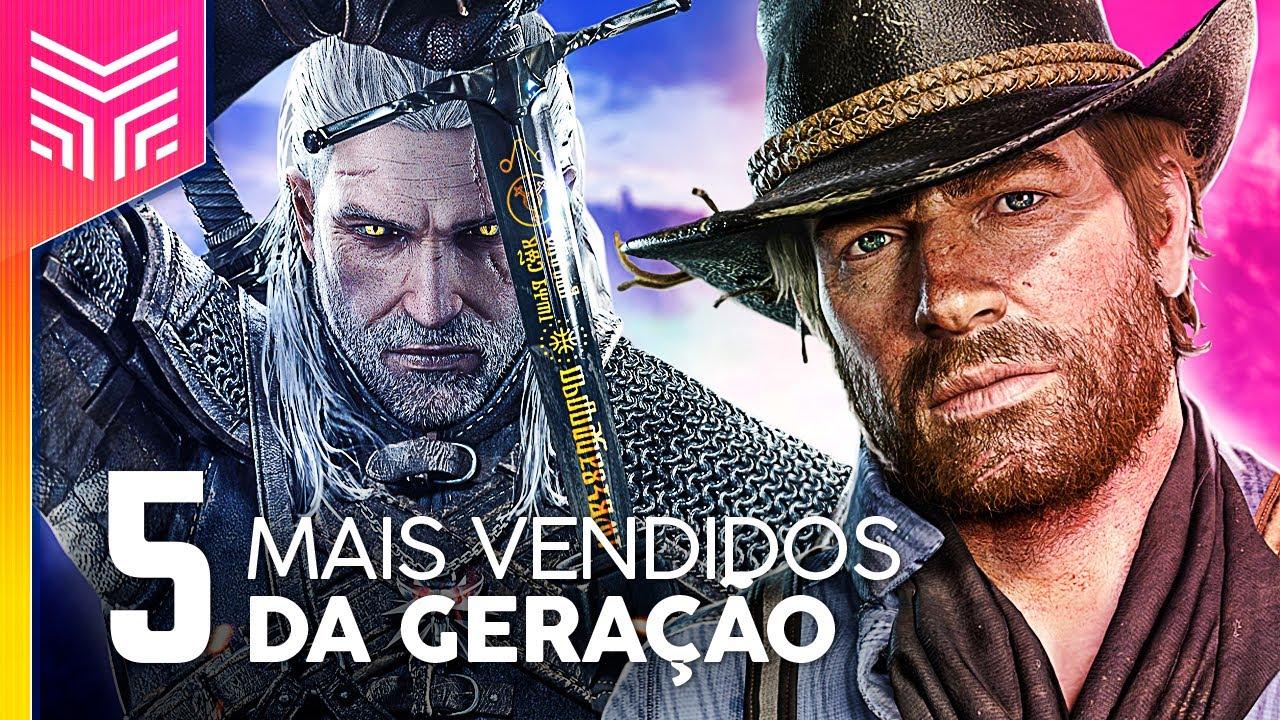 OS 5 JOGOS MAIS VENDIDOS DA GERAÇÃO PS4/XONE/Wii U/Switch | Rankeado