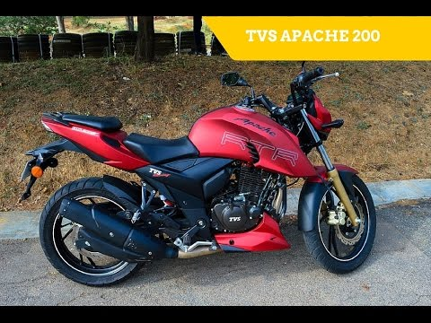 Tvs Apache Rtr 200 4v Launched Walkaround Video Exhaust Note