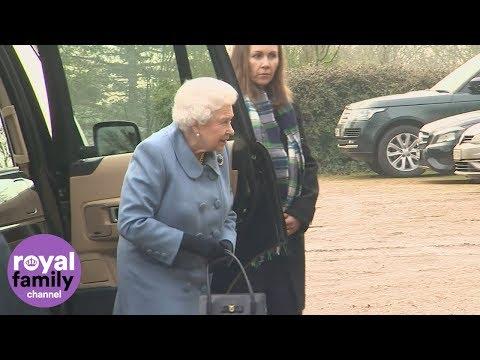 Queen Elizabeth visits Sandringham Women's Institute