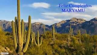 Maryamu   Nature & Naturaleza