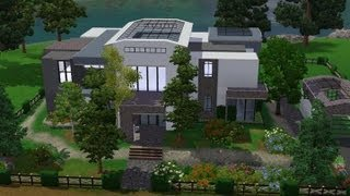 Sims 3 house building - Modern melody