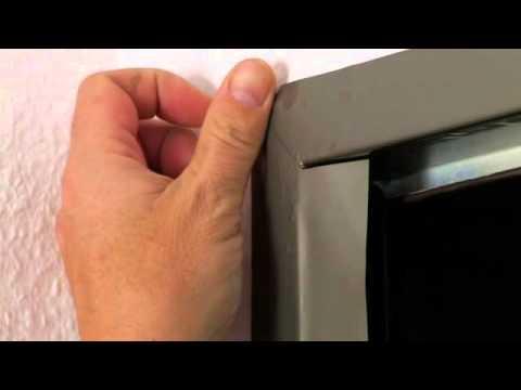 Zargenfolie -Türzargen bekleben statt lackieren - Tür Folien - YouTube