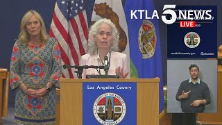Coronavirus: L.A. County officials address region's COVID-19 response, protests