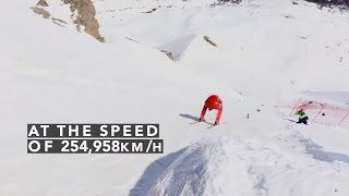 OFFICIAL - Speed Skiing World Record - Ivan Origone - 254.958 km/h